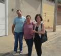 João Sespede, Olga Salomão e Raquel Picelli em vistoria ao Jardim Santa Clara II