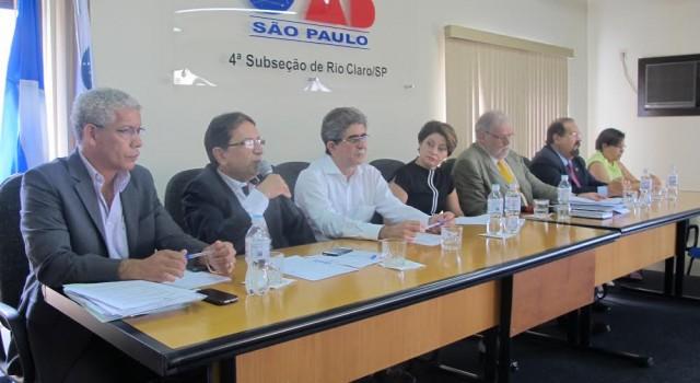 Na OAB, Prefeitura, Câmara, Alesp e entidades unem forças em prol da ferrovia
