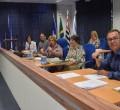 A reunião da Frente Parlamentar de Saúde foi coordenada por Maria do Carmo Guilherme