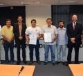 Anderson Christofoletti entrega Moção de Aplausos à Secretaria de Mobilidade Urbana
