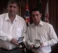 Presidente da Câmara de São Paulo, Milton Leite com o vereador Luciano Bonsucesso