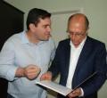 Seron entregou ofício ao governador Alckmin onde solicita reforço do efetivo da PM