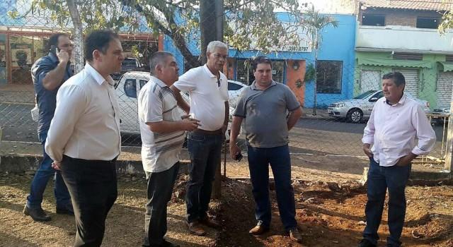 Representantes da Prefeitura e Câmara articulam melhorias no Lago Azul