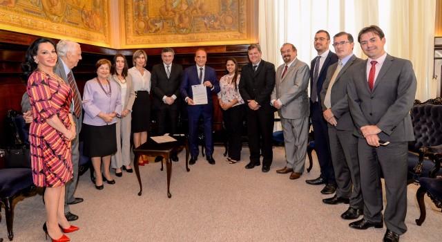 Paulo Dimas Mascaretti, Paula Silveira, Juninho da Padaria, Aldo Demarchi, Cláudio Pavão, Rodrigo Ragghiante e Val Demarchi