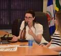 A vereadora Carol Gomes coordenou a atividade na manhã de quarta-feira (20) no Plenário da Câmara Municipal